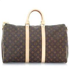 Louis Vuitton Monogram Keepall 45 Luggage