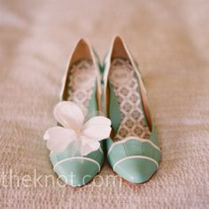green shoes, mint green, wedding shoes, color, tiffany blue, blue shoes, something blue, blue weddings, bridal shoes