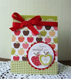 Fruit Fusion Apples Papertrey Ink  Love this!