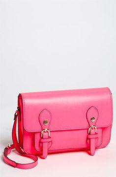 Neon pink crossbody