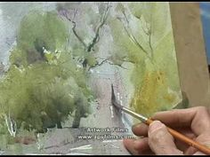 Light & Mood in Watercolour: David Curtis - YouTube