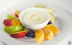 Fruit and cheese provide a variety of nutrients for tasty fuel in this Ricotta Fruit Dip.