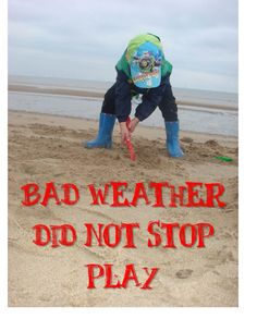 Making Boys Men: Bad Weather Did Not Stop Play - Our Week Outdoors