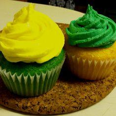 John Deere birthday cupcakes