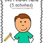 Get kids up and moving with these short vowel find-a-friend activities!  Just print, add a pencil, and go!  This set includes a,e,i,o, and u word f...
