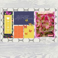 Pretty in Pink layout using Buried Treasures Bundle at www.pixelscrapper.com
