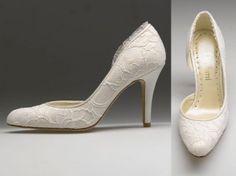 lace shoe, beauti shoe, idea, comfy wedding shoes