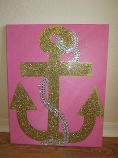 Delta Gamma anchor painting