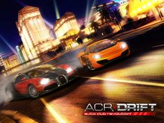 ACR DRIFT APP by CROOZ Inc. Racing Game Apps.