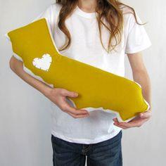 California Pillow Mustard by Love, California