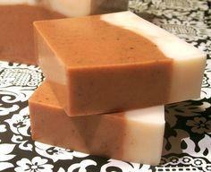 Pumpkin Pie Handmade Shea Butter Soap. FUN!