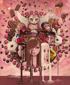 Eye Candy by Aaron Jasinski, via Behance