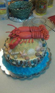 Lobster cake #joescrabshack