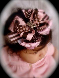 Cool hair bow
