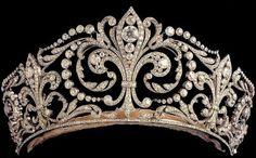 fleur de, princess, royal famili, queen victoria, crown jewel, de lys, diamond, tiaras, wedding gifts