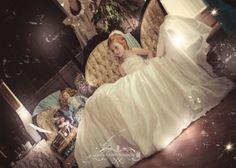 Oversized wedding dress shoot by Beatnik Twist photography