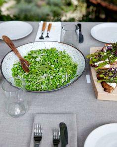 Sauteed Peas and Pea Shoots Recipe
