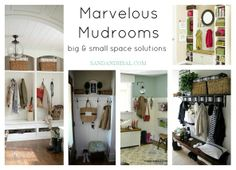 Marvelous Mudrooms: big & small space solutions