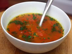 Recipe for harira (Moroccan bean soup) from Serious Eats.