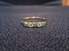 Vintage Ring  14K Gold HGE Low Profile by MonkeyCatBoutique, $10.00