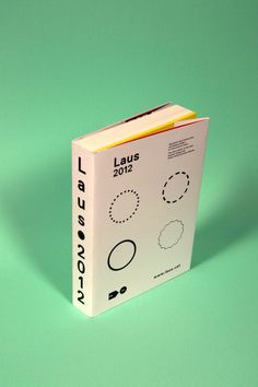 Laus Awards 2012 by Albert Romagosa, via Behance