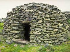 stone hut, stone villag