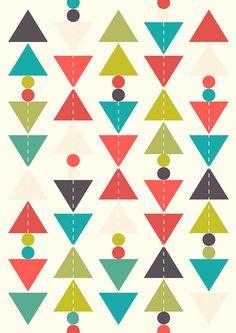 Geometric pattern: one WW