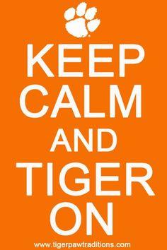 #Clemson #Tigers #KeepCalm