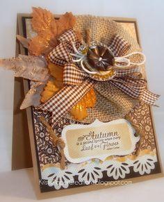 burlap, thanksgiv card, bracelets, paper, fallthanksgiv craft