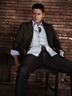 Wentworth Miller... OMGosh, so hot!