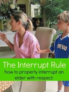 The Interrupt Rule...seriously brilliant!!