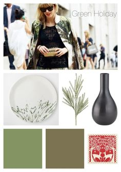 BHG Style Spotter @Kirsten Grove shares a winter-themed color palette on the blog! See her post here: http://www.bhg.com/blogs/better-homes-and-gardens-style-blog/2012/12/03/runway-to-color-palette-a-green-holiday/