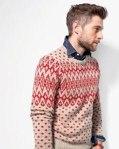 denim under a sweater