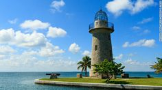 Built by Mark Honeywell in the 1930s, the Boca Chita Lighthouse symbolizes Biscayne National Park.