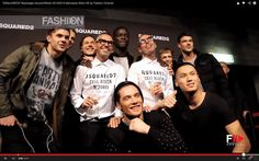 "Video: Backstage at ""DSQUARED2"" Milan Men's Fashion Week 2014-2015 in Milan / via Fashion Channel."