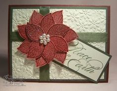 christma card, card idea, stampin stuff, craft, embossed christmas cards