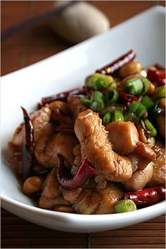 Kung Pao Chicken - a very popular Chinese recipe!