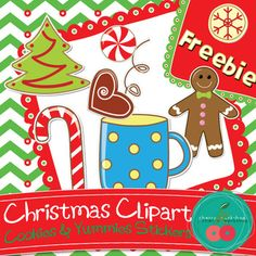 Free Christmas Clipart - Cookies and other Yummies