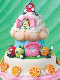 Pasteles Decorados | Frutas traviesas | Utilisima.com