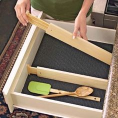 Drawer Dividers, spring loaded non-slip draw organizers| Solutions