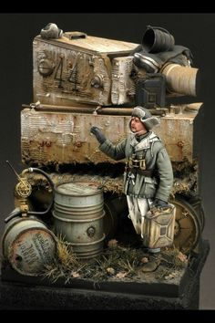"""A Tigers Thirst"" Darius Miniatures Tiger 1"