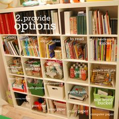 Tips for creating a learning space.