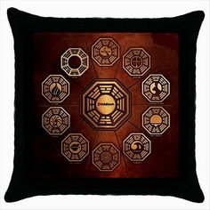 Dharma initiative tv Lost Quality Cushion Cover Throw Pillow Case  http://stores.shop.ebay.co.uk/giftbazaar
