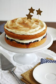 sugar + spice layer cake