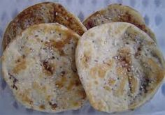 Piayaya - is a flat unleavened bread filled with mozcovado (raw) sugar.