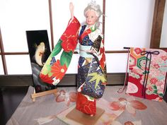 Very Detailed Kimono for Barbie Doll by YukisWoolPets on Etsy, $18.00