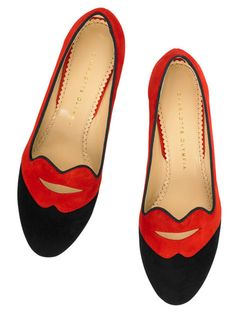 Charlotte Olympia flats #harpersbazaar #fashion #accessories #charlotteolympia #flats