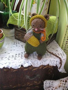Alfie Acorn  Handmade Brambly Hedge Harvest by dollsandbunnies, $36.00