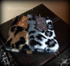 Cell phone cases in cute animal prints!