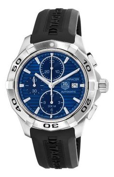TAG Heuer Men's CAP2112.FT6028 Aquaracer Blue Chronograph Dial Watch from TAG Heuer - TAG-Heuer-Watches .com